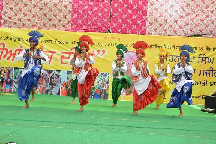Paragon Senior Secondary School-Dance