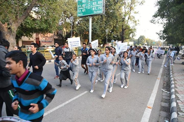 Paragon Senior Secondary School-Rally Activity