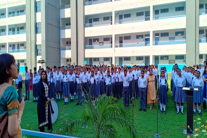 Police Dav Public School-Assembly