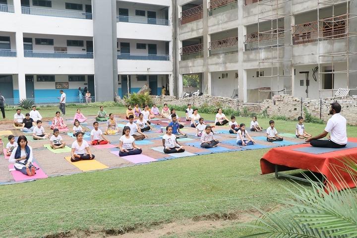 Police DAV Public School-Yoga