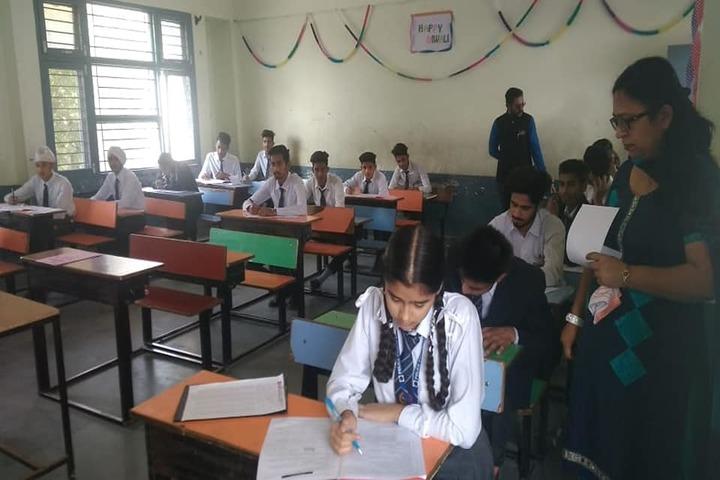 Police Public School-Classroom