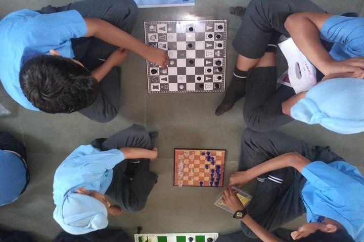 Police Public School-Indoor Games