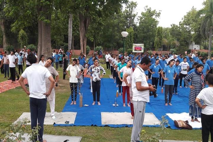Police Public School-Yoga Activity