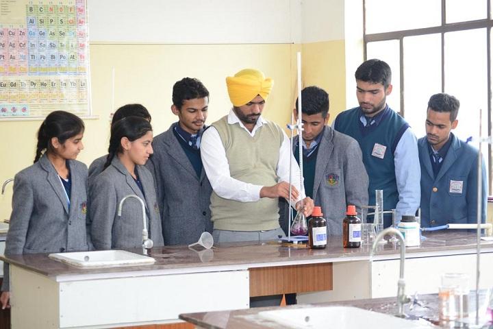 Punjab Convent School-Chemistry Lab