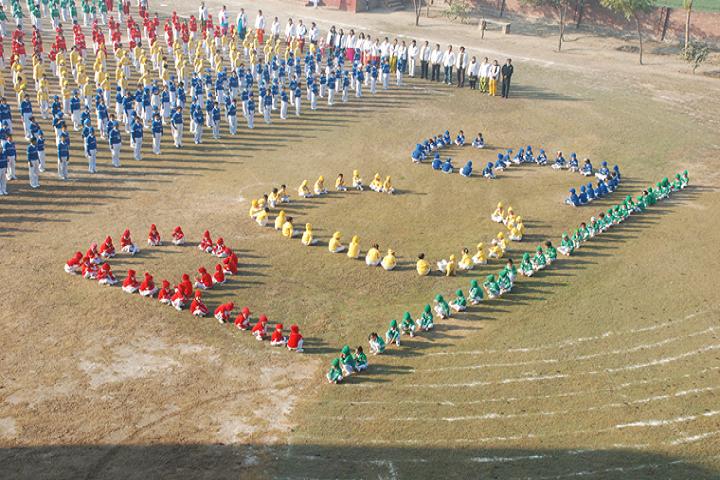 Punjab Convent School-Representing the school
