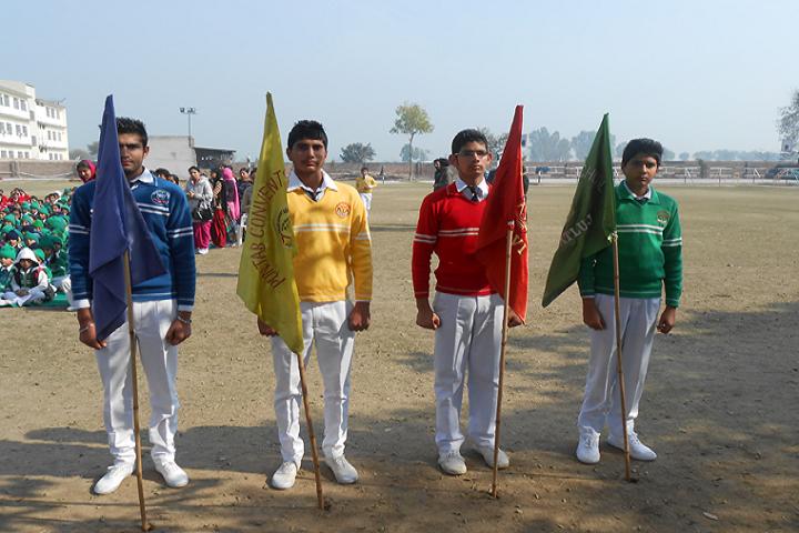Punjab Convent School-Sports Houses Captains