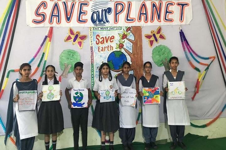 Punjab International Public School-Poster Making