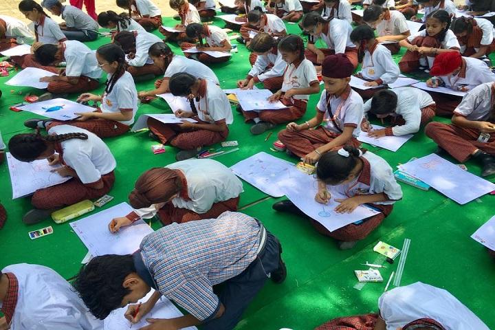 Punjab Public School-Art Compitition