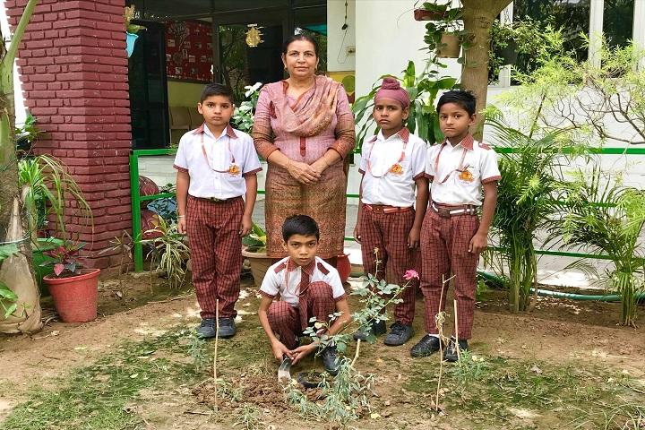 Punjab Public School-Plant a Tree