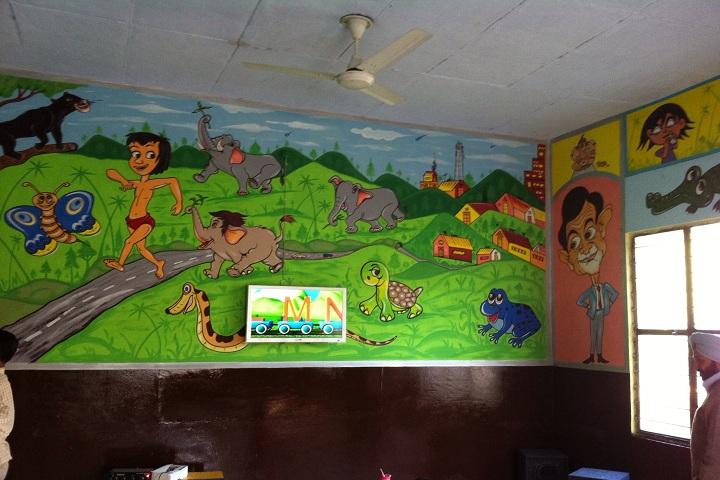 Punjab Public School-Pre nursery Class room