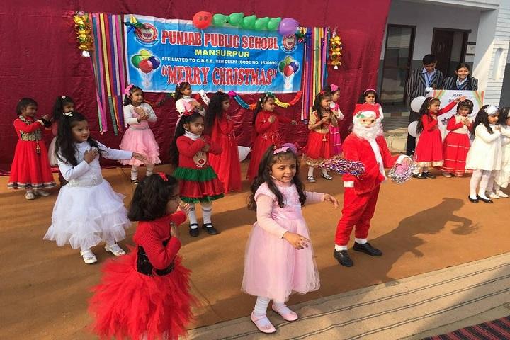 Punjab Public School-Chritmas Celebrations