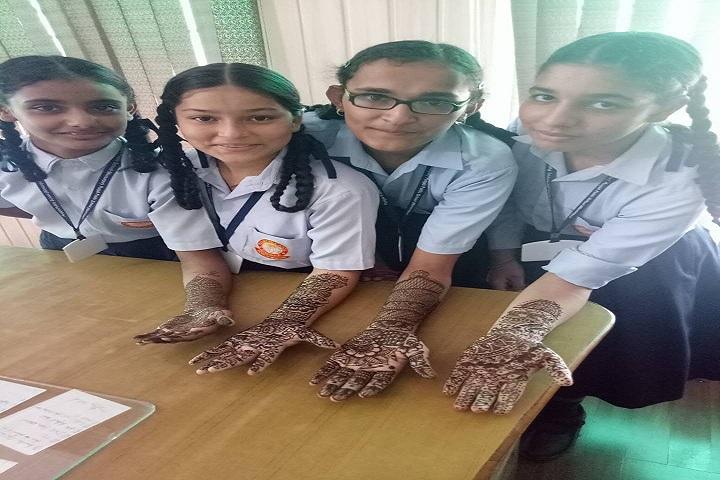 Punjab Public School-Mehendi Compitition
