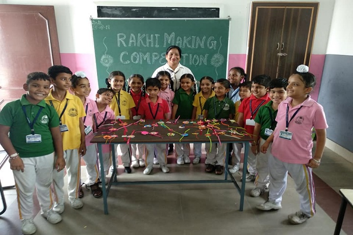 Punjab Public School-Rakhi making Compitition