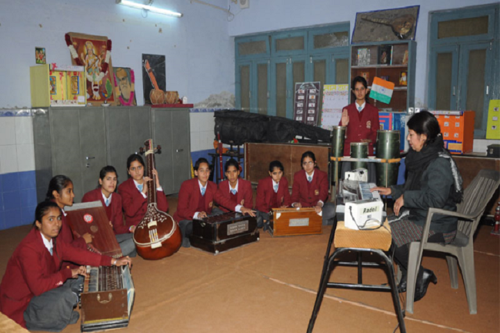 R K G Dav Senior Secondary Public School-Music Room