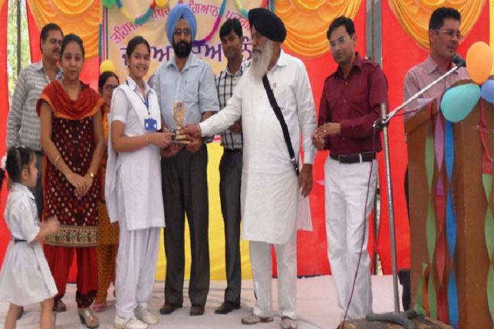 R K G Dav Senior Secondary Public School-Prize Distribution