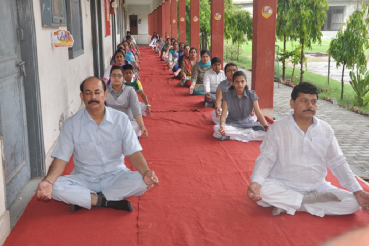 R K G Dav Senior Secondary Public School-Yoga