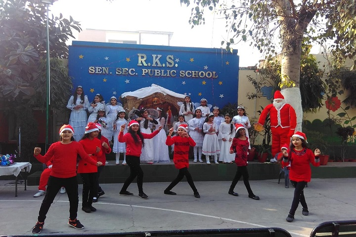 R K S Senior Secondary Public School-Chritmas Celebrations
