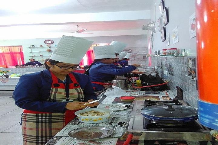 R K S Senior Secondary Public School-Food Making