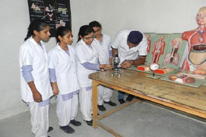Raj Memorial School-Biology Lab