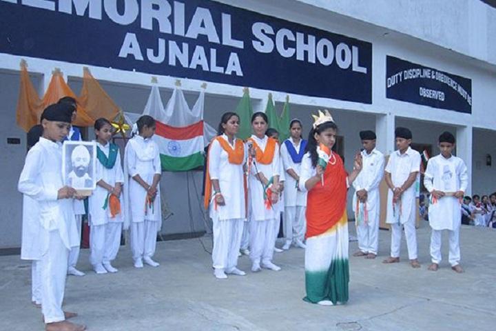 Raj Memorial School-Independence Day