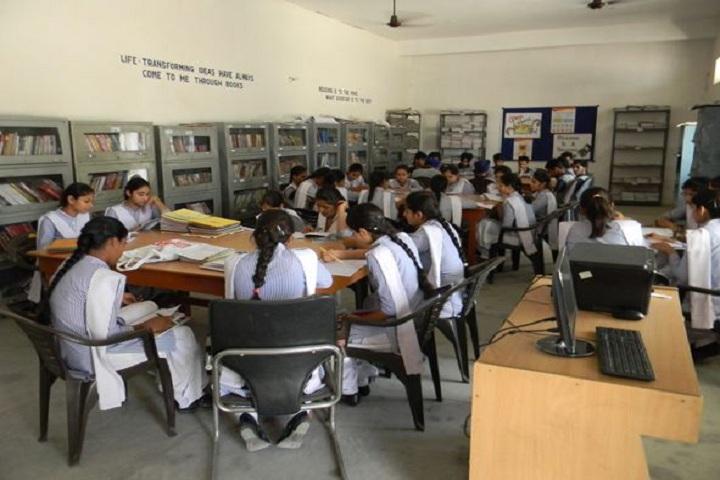 Raj Memorial School-Library