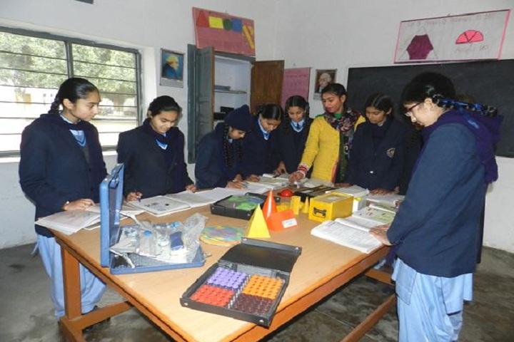 Raj Memorial School-Maths Lab