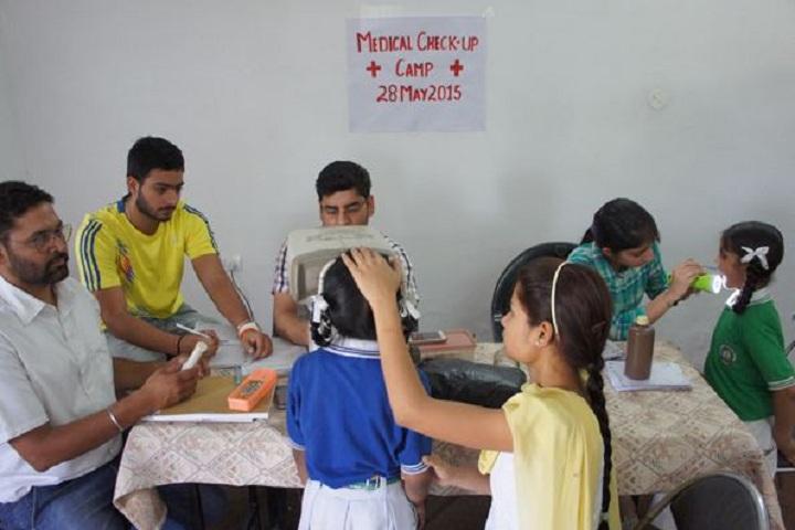 Raj Memorial School-Medical Checkup