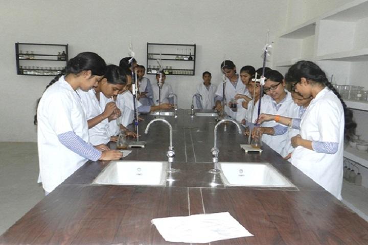 Raj Memorial School-Chemistry Lab