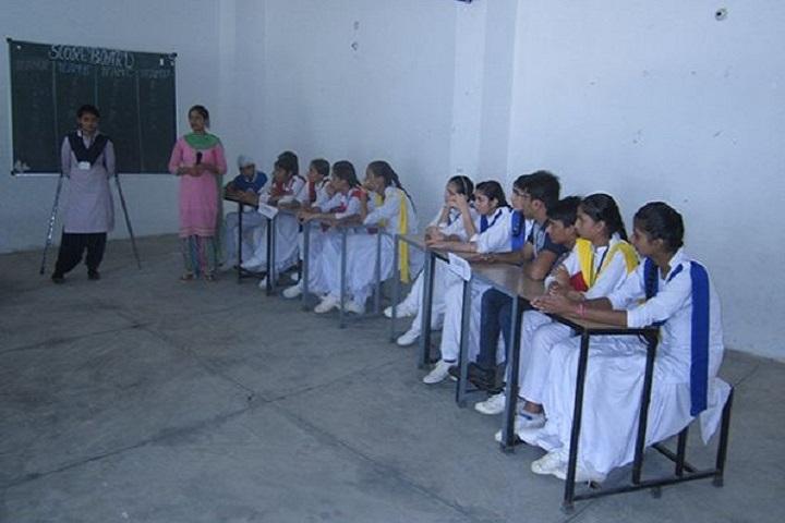 Raj Memorial School-Quiz Compitition