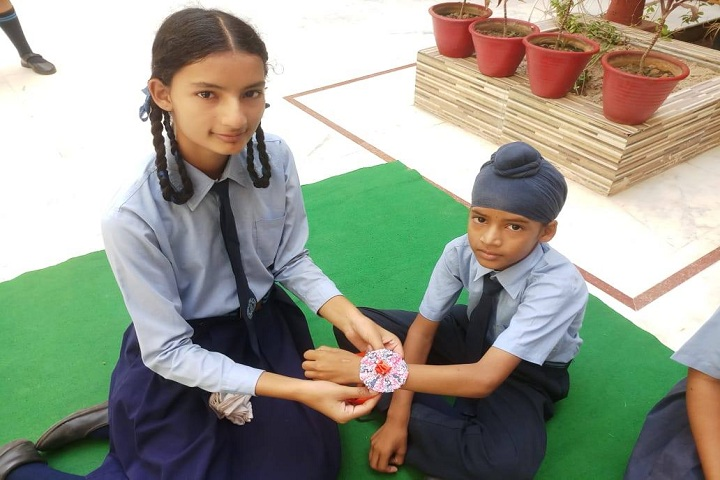 Rajindera Public Senior Secondary School-Rakhi Celebration