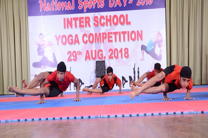 Rattan Dai Khosla Dav Model Senior Secondary School-Inter School Yoga Compitition
