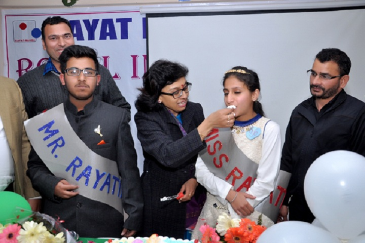 Rayat International School-Farewell