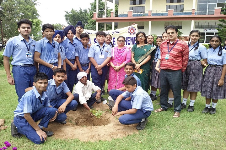 Rayat International School-Plant A Tree