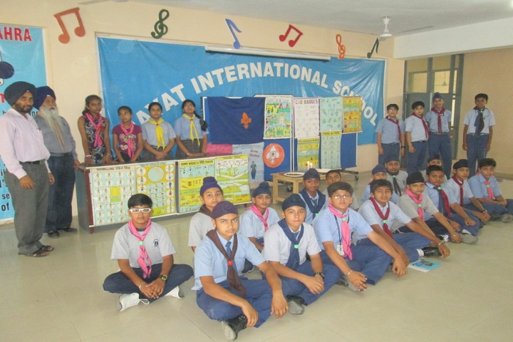 Rayat International School-Scout Camp