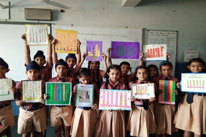 Ryan International School-Abacus Making Activity