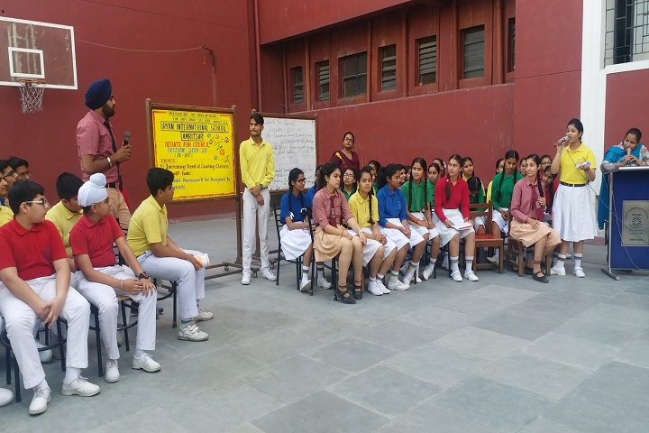 Ryan International School-Debate Session