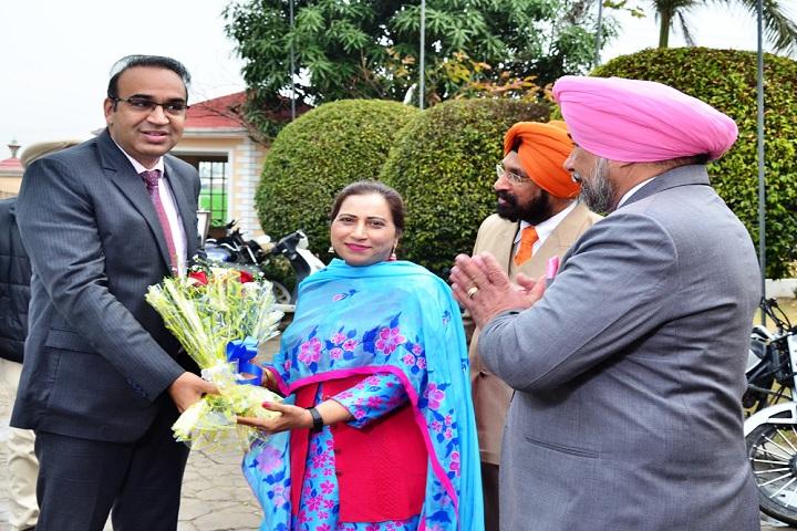 S Harbans Singh International Public School-Guest Honour