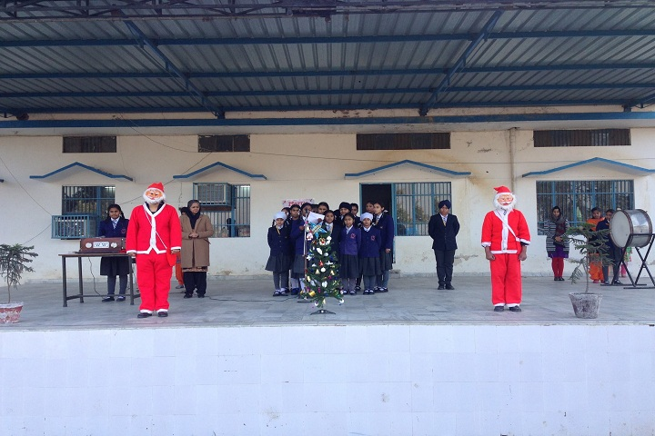S K Public Senior Secondary School-Chritmas Celebrations