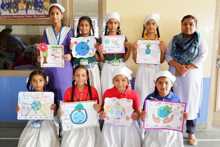 S K Public Senior Secondary School-Earth Day Celebration