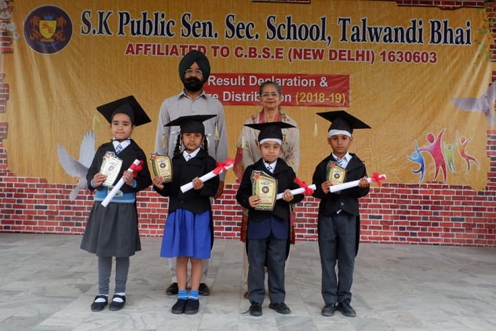 S K Public Senior Secondary School-Graduation Day