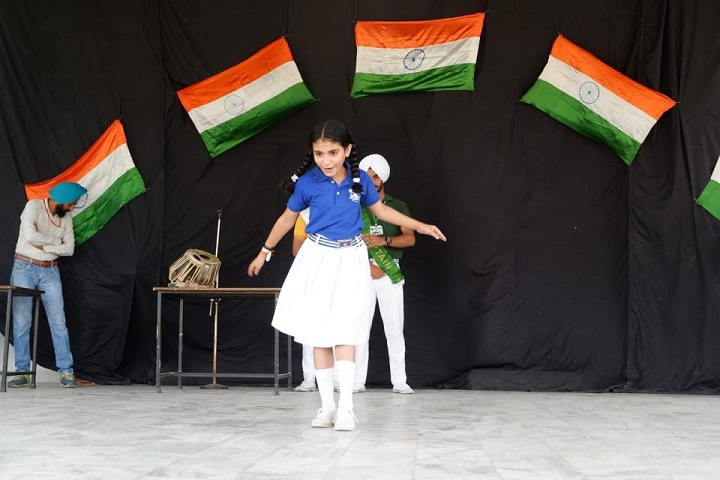S K Public Senior Secondary School-Independence Day Celebrations