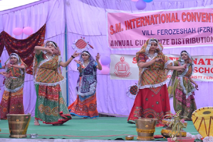 SM International Convent School-Annual day
