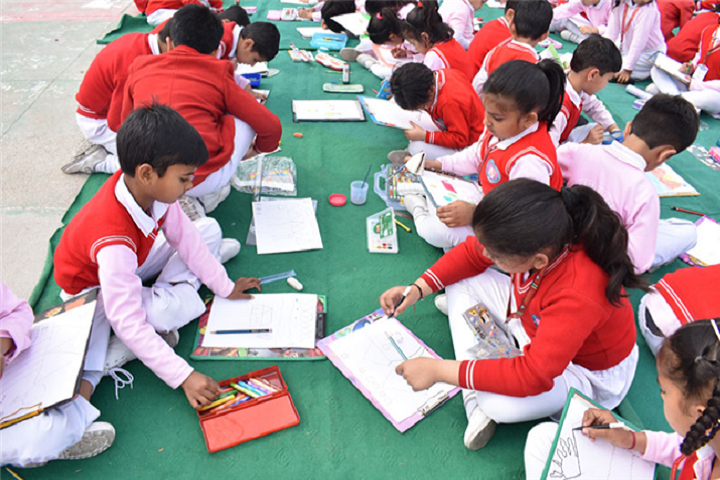 Sacred Heart Convent School-Drawing Compitition