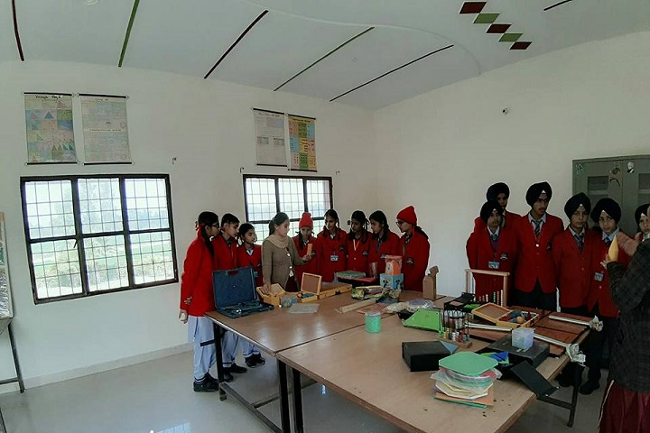 Sacred Heart Public School-Maths-Lab