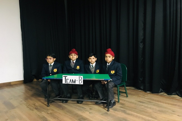 Sacred Souls School-Quiz Compitition