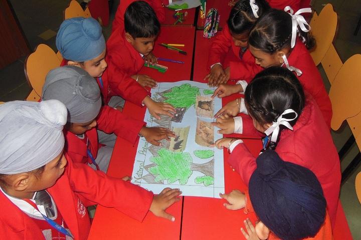 Saffron Public School-Art
