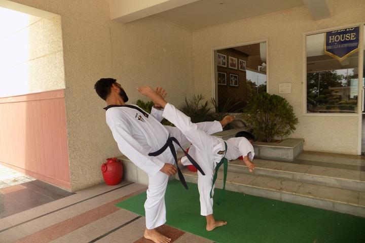 Saffron Public School-Karate