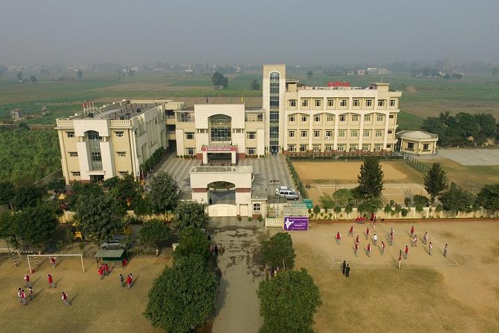 Saffron Public School-School Building