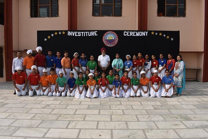 Sahibzada Ajitsingh Ji Public School-Investiture Cermony