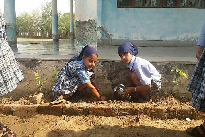Sahibzada Jujhar Singh Public School-Plantation